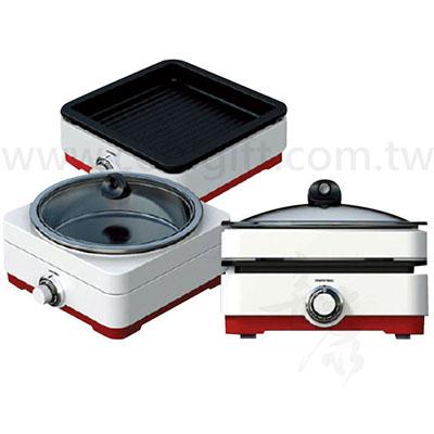 日本松木 全功能油切烹飪兩用鍋