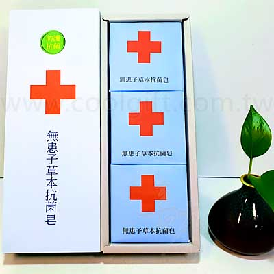 MIT無患子茶樹精油抗菌皂-3入組