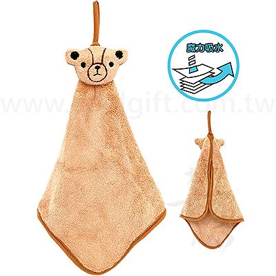 英國熊可愛造型擦手巾