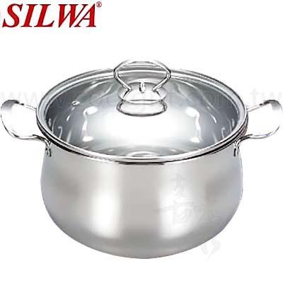 西華24cm雙耳福氣鍋