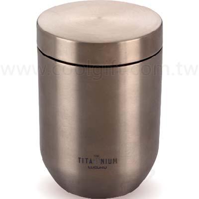 純鈦雙層隔熱杯330ml