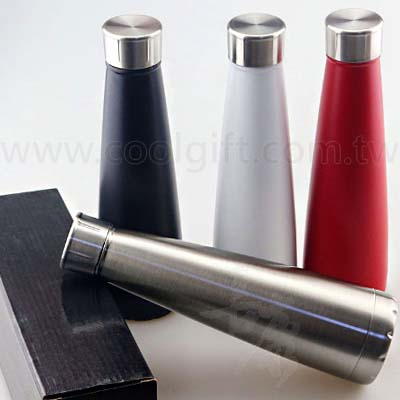 質感不鏽鋼真空瓶450ml