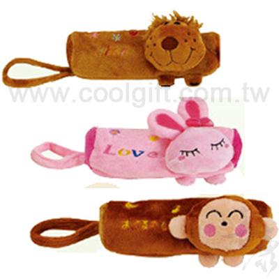 動物造型絨毛筆袋