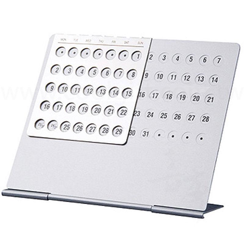 工業風萬年桌曆