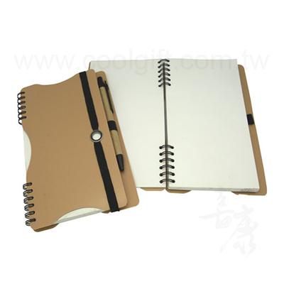 綁帶設計感筆記本