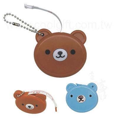 小熊造型捲尺