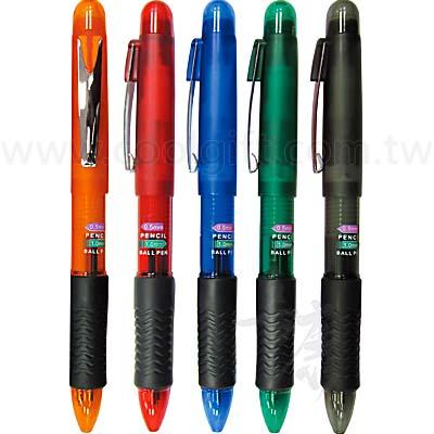 彩色旋轉兩用筆
