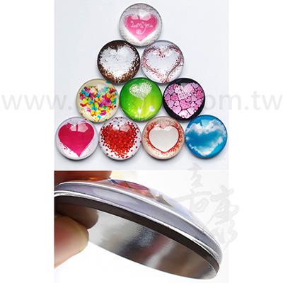 客製化玻璃磁鐵冰箱貼