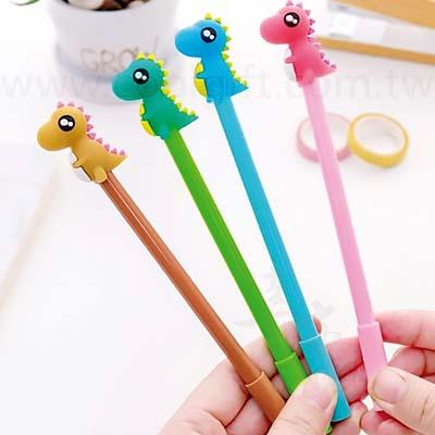 可愛小恐龍造型中性筆