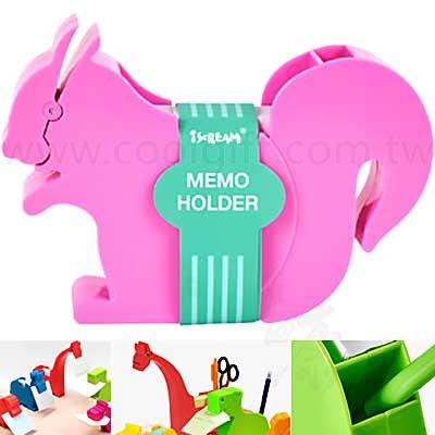 動物造型memo夾筆筒