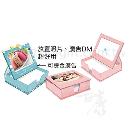 浪漫相框便條紙盒