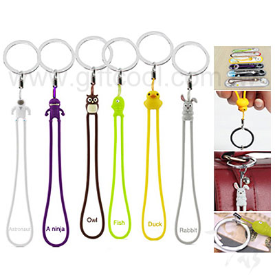 卡通造型鑰匙圈/手機吊飾