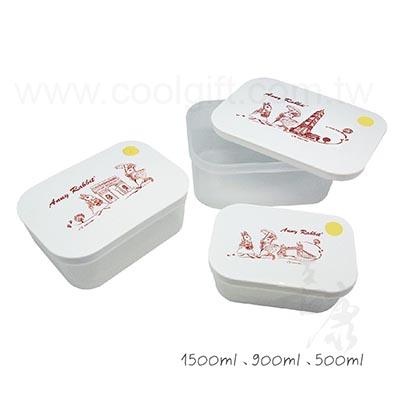 安妮兔旅遊版保鮮盒3入組