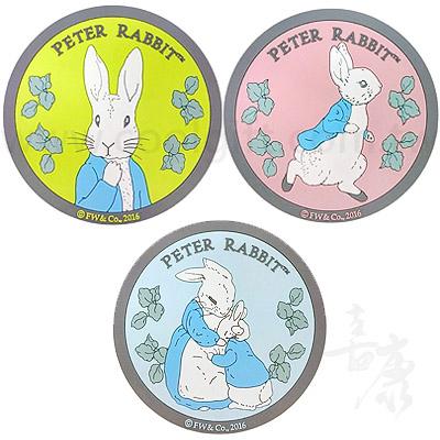 經典彼得兔橡膠杯墊