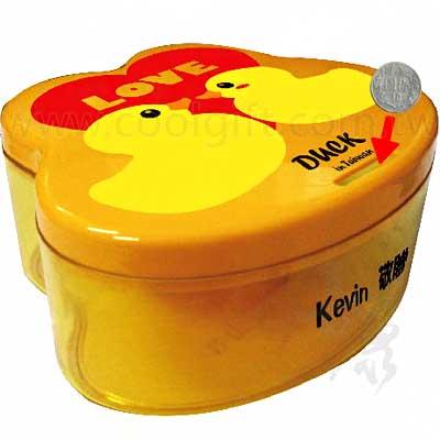 黃色小鴨造型存錢筒