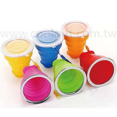 伸縮矽膠摺疊杯