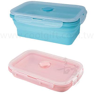 矽膠可折疊式保鮮盒
