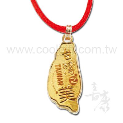 合金台灣造型飾品