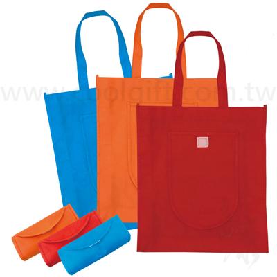 折疊環保購物袋(魔鬼粘)