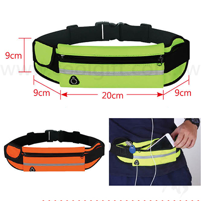 新一代 貼身防水運動腰包