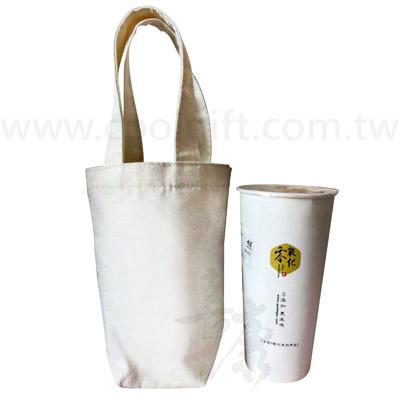 環保手提帆布飲料袋