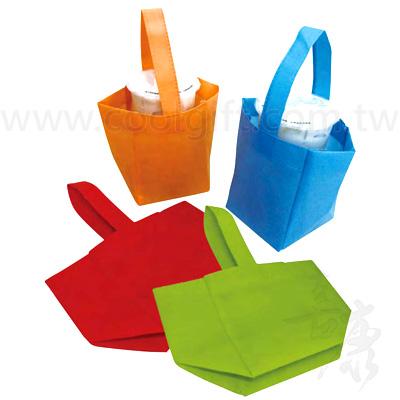 不織布環保飲料提袋-單入