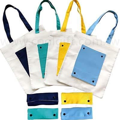 清新帆布折疊手提袋