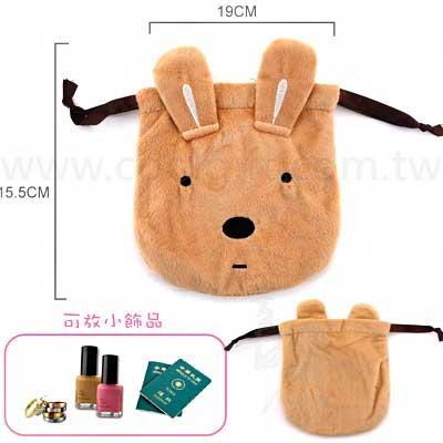 法國兔頭型束口袋