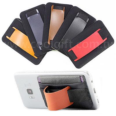 皮革手機卡套