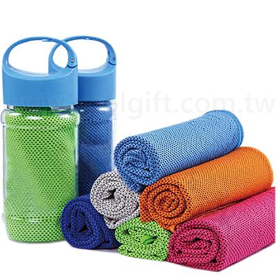 涼感吸濕排汗運動毛巾