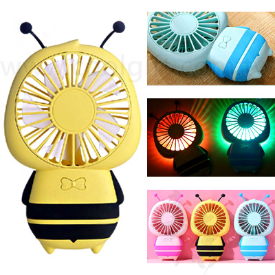 可愛蜜蜂造型風扇