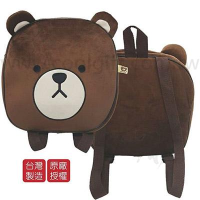 可愛熊後背包