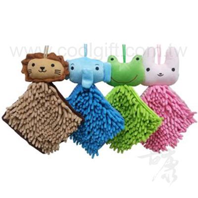 動物方型手擦巾