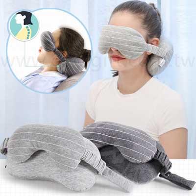 多功能便攜眼罩頸枕
