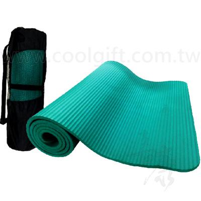 多功能加厚止滑運動瑜珈墊(附背袋)