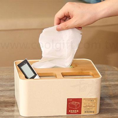 竹製蓋面紙盒(大)