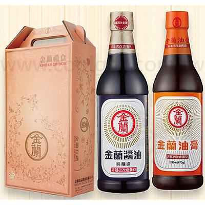 金蘭醬油/油膏禮盒組