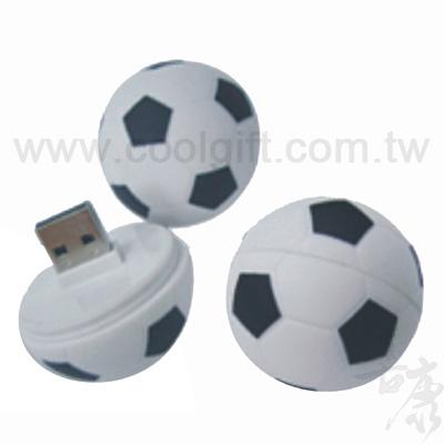 足球造型USB隨身碟
