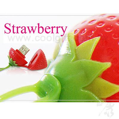草莓型USB隨身碟