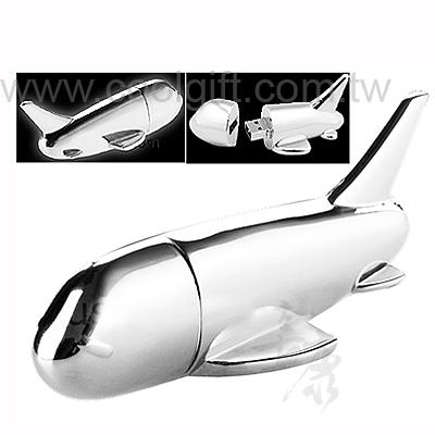 飛機造型金屬隨身碟