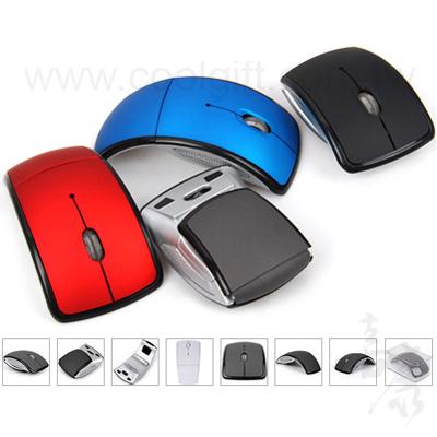 藍牙弧形折疊滑鼠 USB3.0