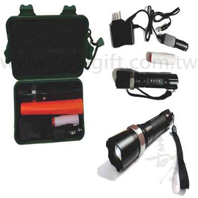 充電式手電筒+指揮棒組