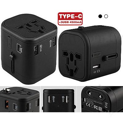 Type-C萬用旅行轉換插頭