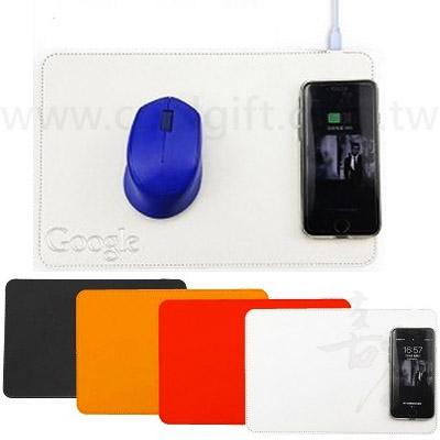 二合一無線充電滑鼠墊