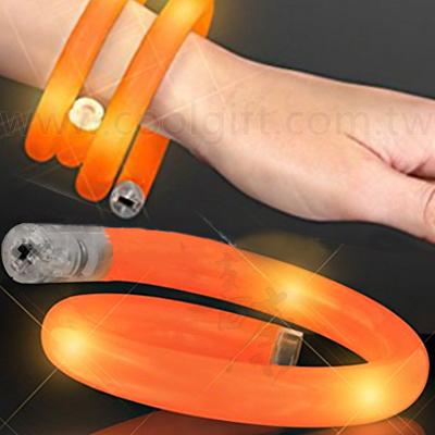LED發光軟管手環-細版