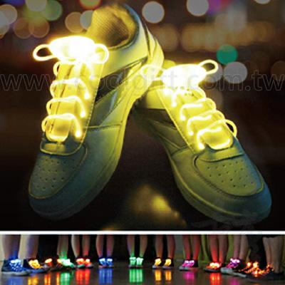 酷炫LED發光運動鞋帶