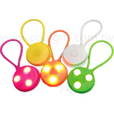 LED矽膠隨身警示燈