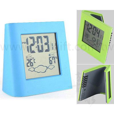 電子天氣時鐘