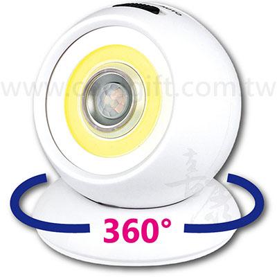 廣角人體感應燈(電池式)