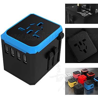 4孔USB轉換插頭3.6A